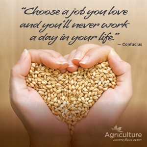 Ag more than ever a job you love