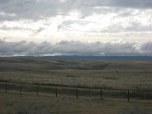 Grasslands near Maple Creek, SK